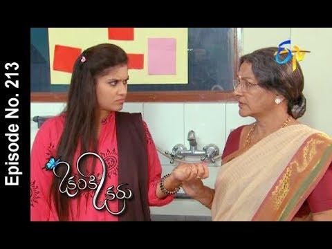 Okariki Okaru | 12th January 2018  | Full Episode No 213 | ETV Telugu