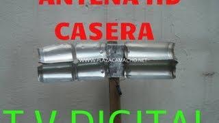 como hacer antena hd hdtv tdt ,exterior alta definicion {casera} CON LATAS DE REFRESCO