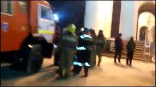 Более сорока пожарных прибыли по ложному сигналу к Саратовскому театру оперы и балета