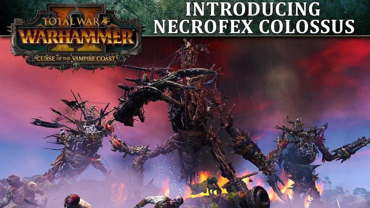 Total War: WARHAMMER 2 - Introducing    Necrofex Colossus