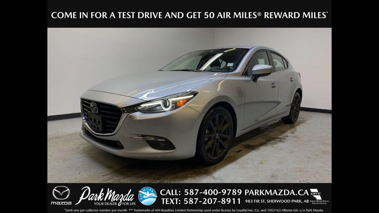 SILVER 2018 Mazda Mazda3 Sport GT Review   - Park Mazda