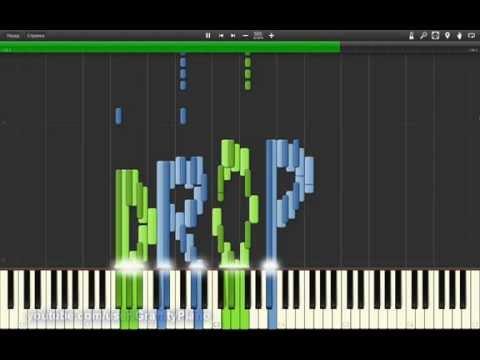 Showtek & Ookay - Bouncer piano tutorial
