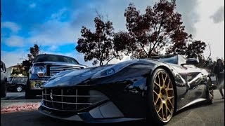 Ferrari F12 Berlinetta Revs and Full Throttle Acceleration