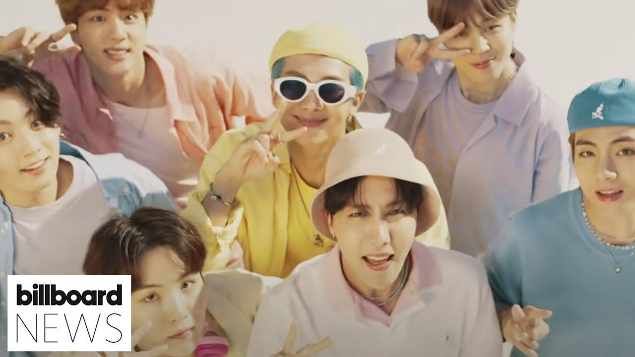 BTS' 'Dynamite' Music Video Reaches 1 Billion Views on YouTube | Billboard News
