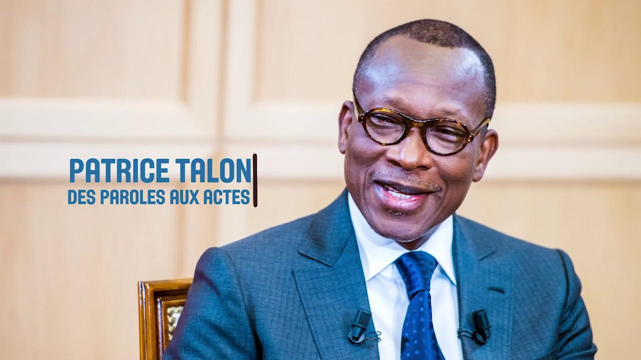 Patrice Talon : des paroles aux actes