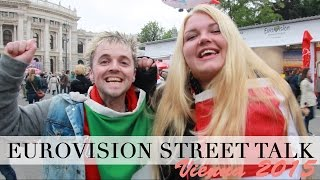 Eurovision 2015 Street Talk | Accents & Apple Strudel