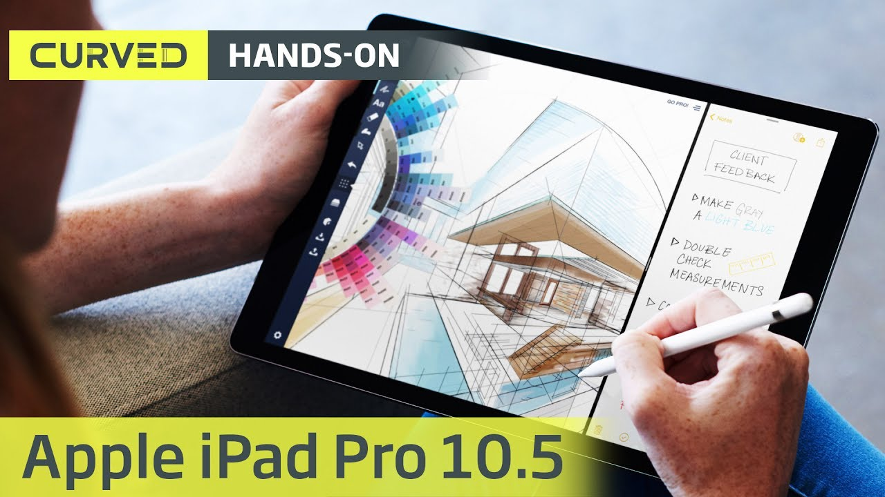 Apple's new 10.5-inch iPad Pro is a more efficient multitasking tablet