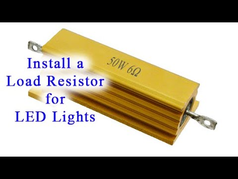 How to Install a Load Resistor for LED Lights
