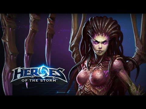 ♥ Heroes of the Storm - Kerrigan, Jack of All Trades