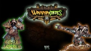 Warmachine & Hordes - Circle Orboros (P-Baldur) vs. Trollbloods (P-Doomshaper) - 50pt Battle Report