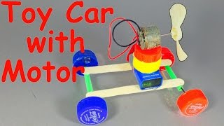 How to Make a CAR with a MOTOR at Home