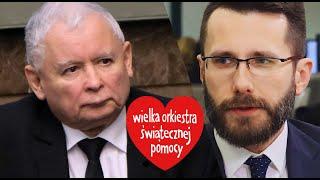 Jarosław Kaczyński wspiera WOŚP?! Rzecznik PiS rozwiewa wątpliwości...