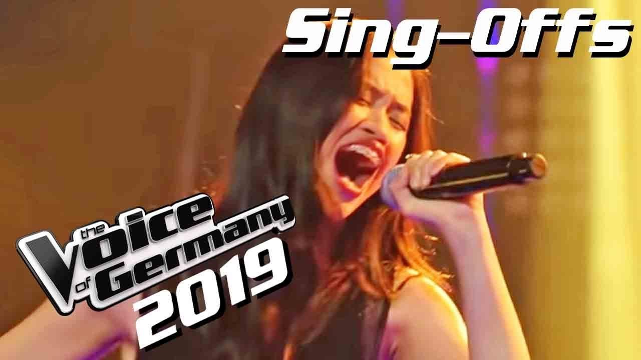 Snow Patrol - Run (Claudia Emmanuela Santoso)   The Voice of Germany 2019   Sing-Offs