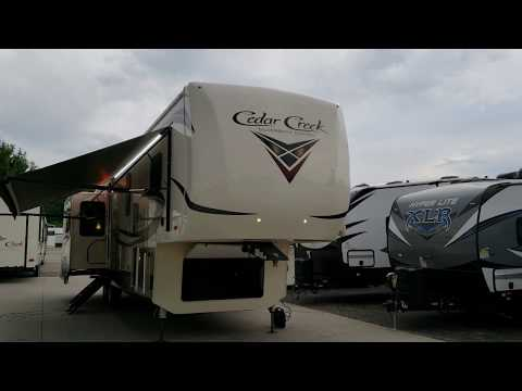 2019 Cedar Creek Silverback 37mbh by Forestriver at Couchs RV Nation