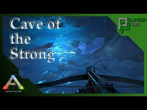 Ark: Survival Evolved - CAVE OF THE STRONG! HOW TO GET THE ARTIFACT OF THE STRONG!