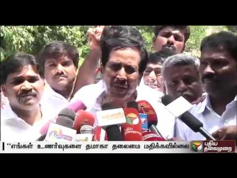 TMC leader Gnanasekaran joins AIADMK in Poes Garden
