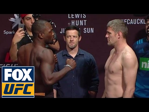 Derek Brunson vs. Daniel Kelly | Weigh-In | UFC ON FOX