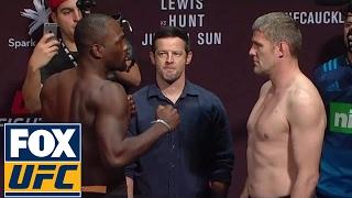 Derek Brunson vs. Daniel Kelly   Weigh-In   UFC ON FOX