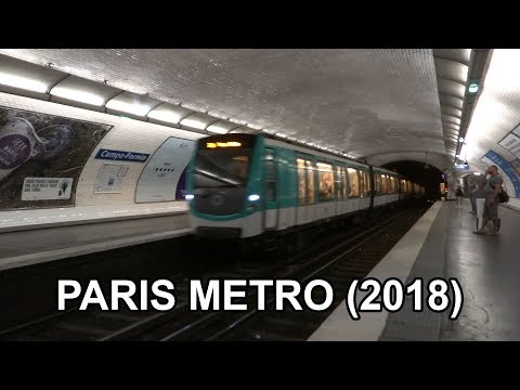 🇨🇵 Paris Metro - Métro De Paris (2018)