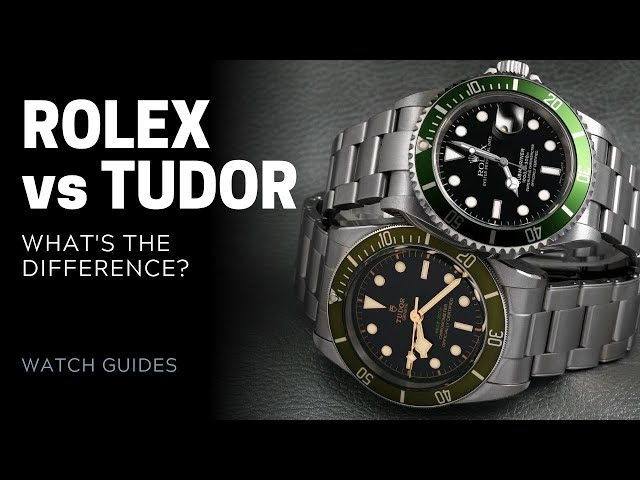 Rolex vs Tudor Watches: What's the Difference? | SwissWatchExpo [Rolex Watches]