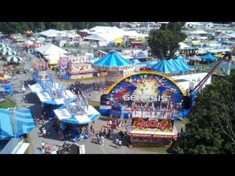 Dutchess County Fair Ferris Wheel View
