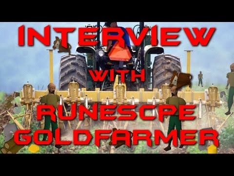 GOLDFARMING RUNESCAPE $100,000's  INTERVIEW