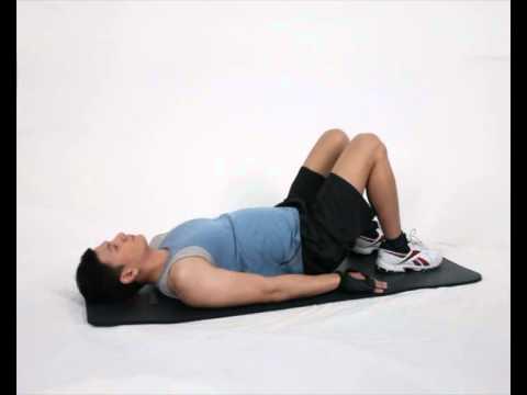 Gerakan Latihan Otot Paha - Bridging