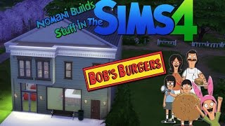 Bob's Burgers Restaurant And Apartment | The Sims 4 Speed Build
