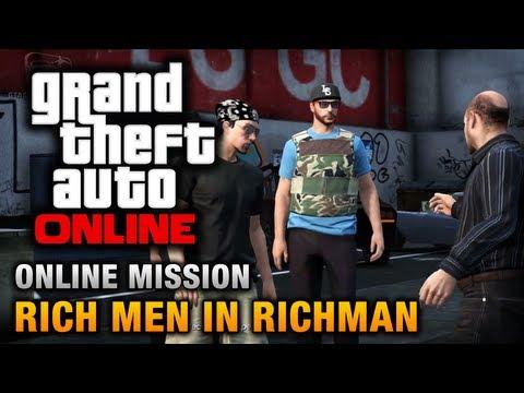 GTA Online - Mission - Rich Men in Richman [Hard Difficulty]