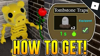 How to UNLOCK THE TOMBSTONE TRAPS in PIGGY | Roblox