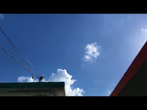Google Project Loon over Puerto Rico