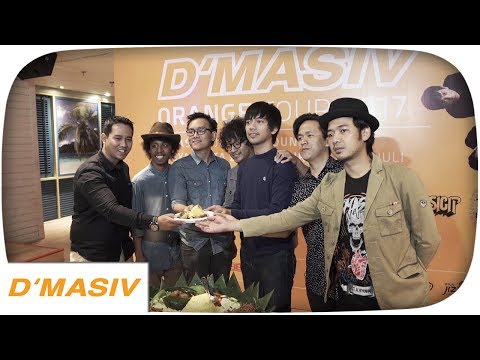 D'MASIV - ORANGE TOUR 2017 (Press Conference)