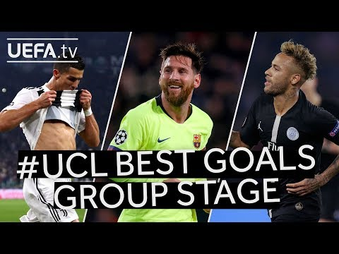RONALDO, MESSI, NEYMAR: #UCL Group Stage BEST GOALS!!