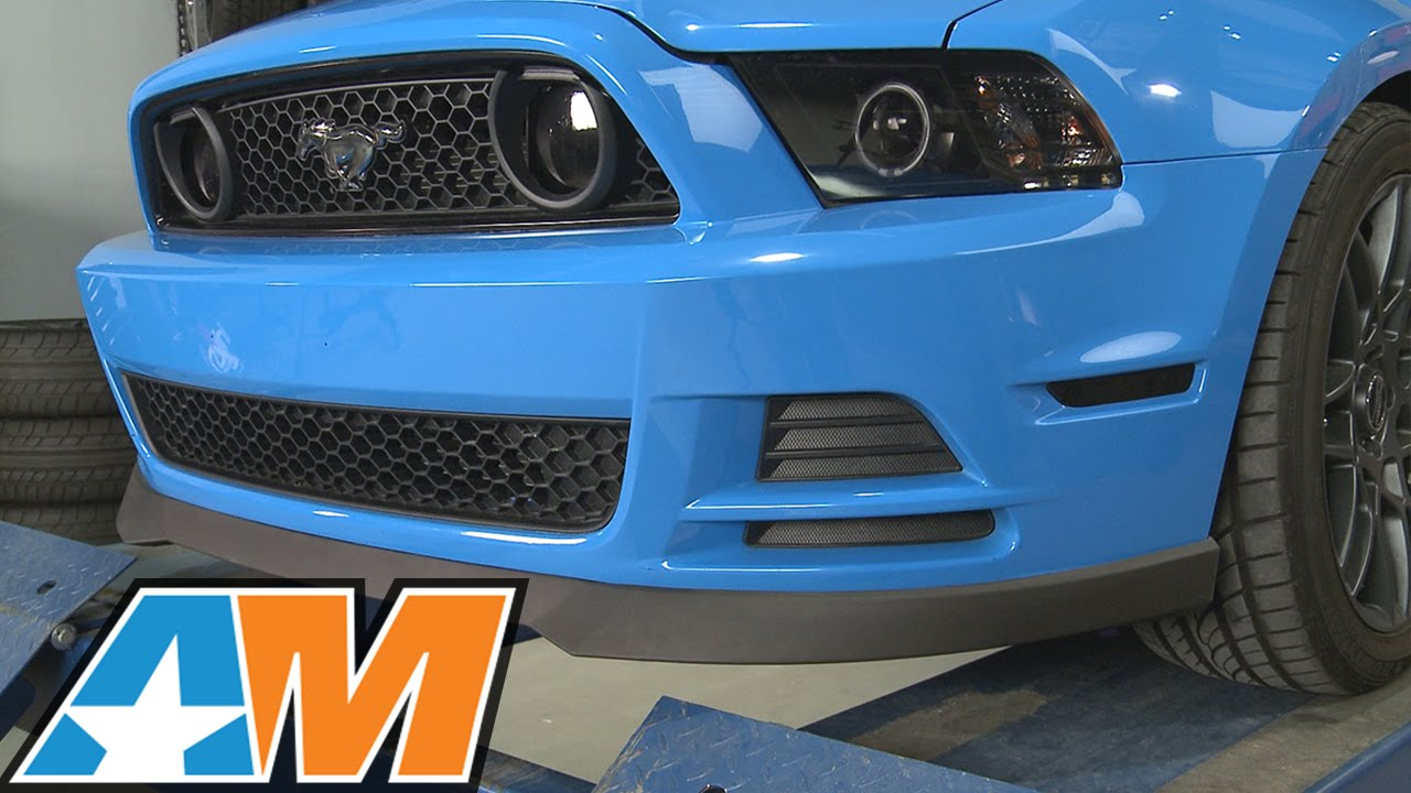 2013 2014 Mustang Gt Amp V6 Mmd Chin Spoiler Review
