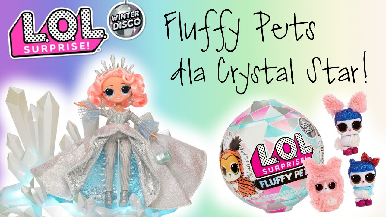 [VIDEO] - LOL Surprise Winter Disco ❄️ Fluffy Pets dla Crystal Star ❄️ Toys Land 4