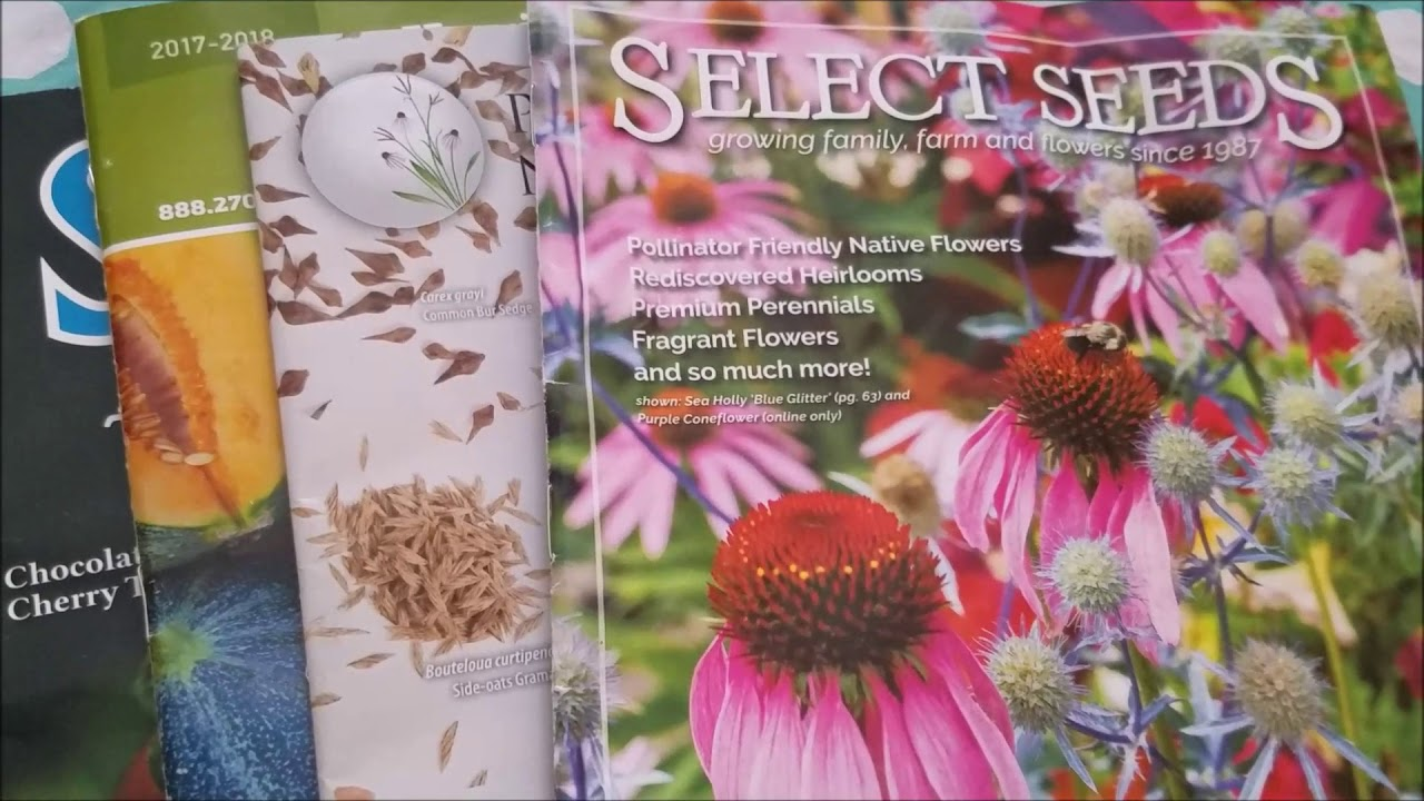 Seed Catalogs Lets Get Started With The 2018 Growing Season
