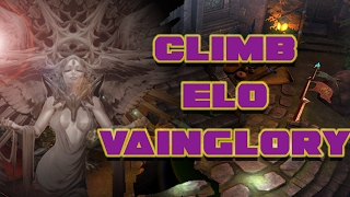 HOW TO CLIMB TIERS IN VAINGLORY - RANK UP AND CLIMB ELO