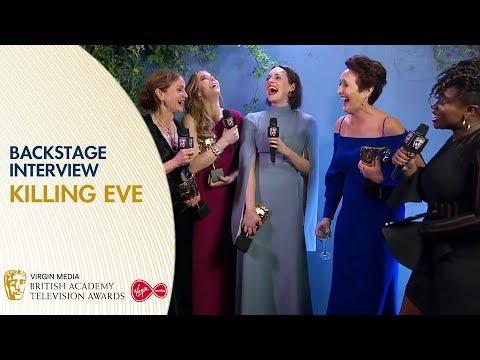 Cast & Crew Of Killing Eve React To Winning Drama Series | BAFTA TV Awards 2019