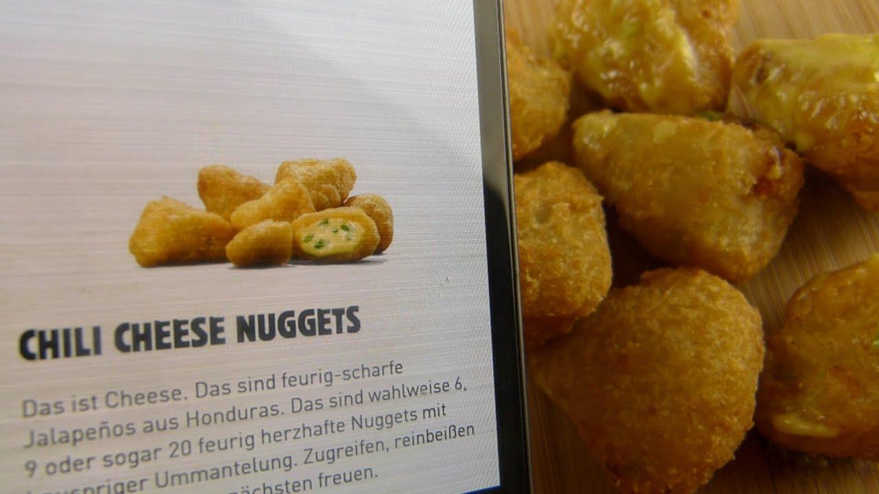 Cheese mcdonalds chili nuggets Every McDonald's