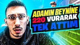 ADAMIN BEYNİNE 220 VURARAK TEK ATTIM !! ( Fortnite Battle Royale Türkçe )