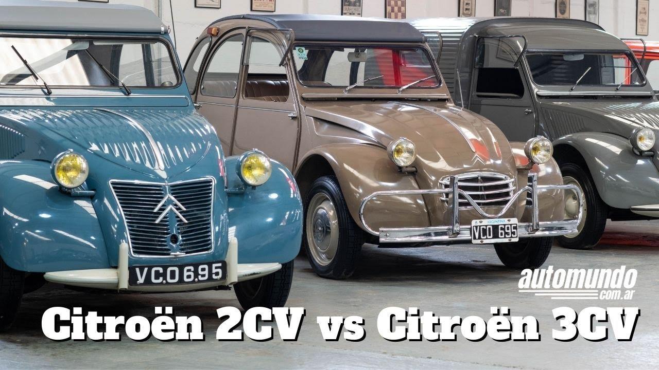 Download Citroën 2CV vs Citroën 3CV: Principales diferencias
