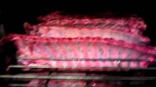 Baby Back Ribs Ready To Smoke