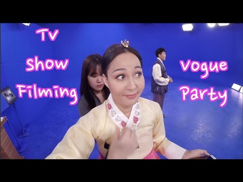 VLOG#3 Day In My Life In Seoul   TV Work And Vogue