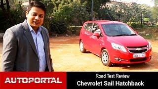Chevrolet Sail Hatchback Test Drive Review - Autoportal