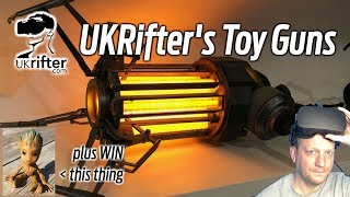 UKRifter IRL: Where Does He Get All Those Wonderful Toys? + WIN A BABY GROOT!