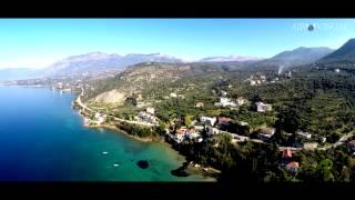 "4K Aerial film ""When the blue meet the green,Kitries village"""