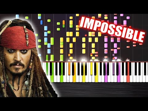 He's a Pirate - IMPOSSIBLE PIANO REMIX by PlutaX - Piano - Synthesia