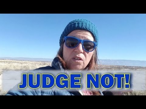 A Gorgeous Walk Near White Sands and Real Talk: Judge Not!