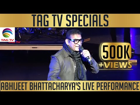 Abhijeet Bhattacharya's Live Performance @Flato Theatre Markham - Special @TAG TV