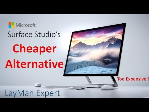 Cheaper Alternative of Microsoft Surface Studio